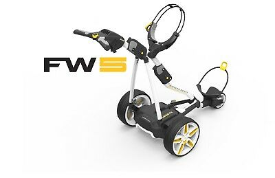 2017 Powakaddy FW5 Electric Golf Buggy With Lightweight Lithium Battery & Seat