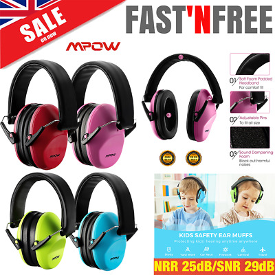BABY & CHILDRENS Ear Defenders ALPINE MUFFY Earmuffs Hearing Protection + BAG UK