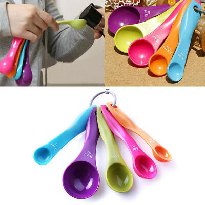 Colourworks 5PC Measuring Spoons Spoon Cup Baking Utensil Set Kit