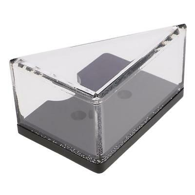 2 Deck Discard Tray Thick Acrylic for Casino Blackjack Dealer Card Players