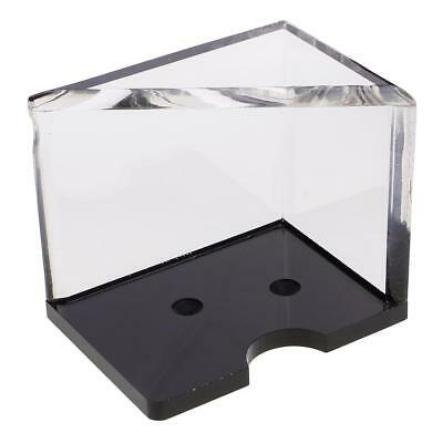 4 Deck Discard Tray Thick Acrylic for Casino Blackjack Dealer Card Players