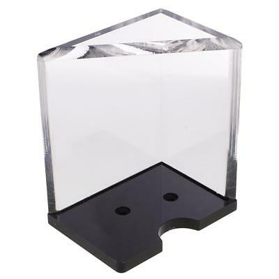 6 Deck Discard Tray Thick Acrylic for Casino Blackjack Dealer Card Players