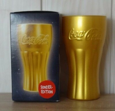 coca cola glas farbe gold limitierte sonderedition von mcdonalds neu ovp eur 10 00 picclick de. Black Bedroom Furniture Sets. Home Design Ideas