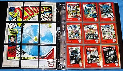 30 Years of 2000 AD Judge Dredd - Base Set of 72 Mint Trading Cards Strictly Ink