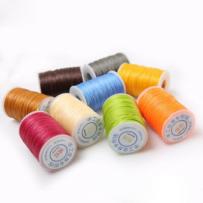 65M 150D 1MM Leather Sewing Waxed Thread For DIY Chisel Upholstery Shoes Fine