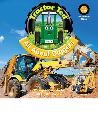 Tractor Ted All About Diggers Book *OFFICIAL - Direct from Tractor Ted Warehouse