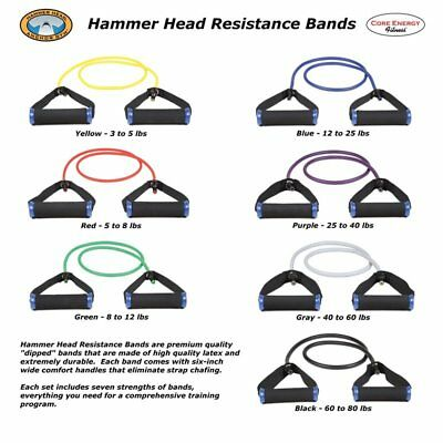 Resistance Exercise Tube from Hammer Head Anchor Gym