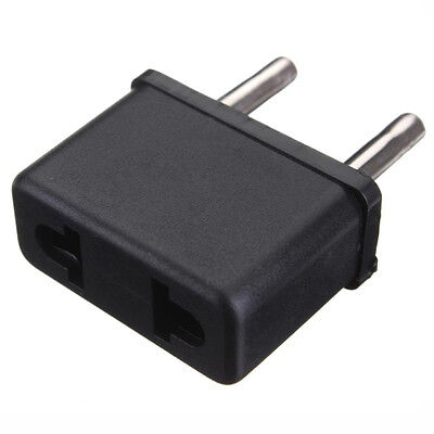 2pcs USA US To EU Europe EURO Travel Charger Power Adapter Converter Wall Plug·