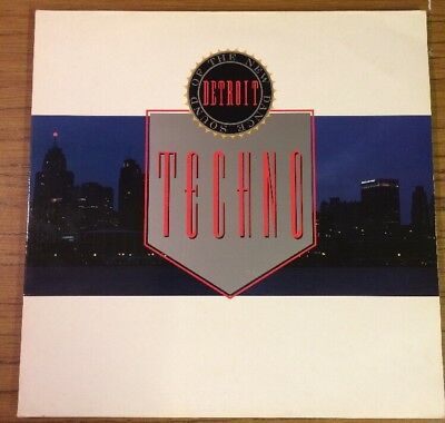 Techno! The New Dance Sound of Detroit - Various Artists 2 x LP 10 Records