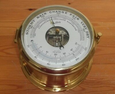 Dekoratives Schiffs-Barometer Von Schatz,made In West-Germany  #6749