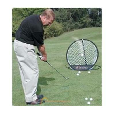 Portable Pop-up Golf Chipping Pitching Praxis Net Training Aid Tool 165g