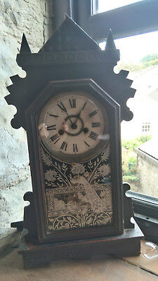Mantel clock - keeping time and chime - Needs good home!