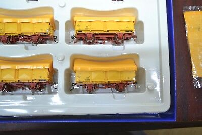 (57)*auscision  Gy Open Wagon Vr Hansa Yellow With  Yellow Tarp ****mint Unused
