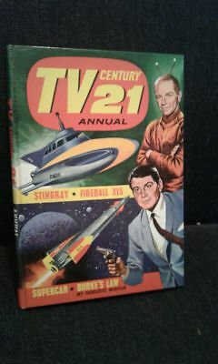 TV 21 Century Annual 1965  Gerry Anderson Stingray Fireball XL5 Supercar