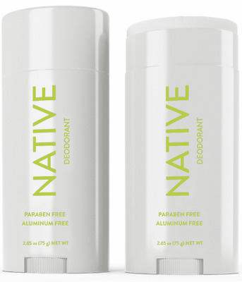 new NATIVE Deodorant Pear & lavender   Scent Long Lasting Aluminun Free 2.65 Oz