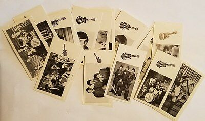 MONKEES 1967 Goodies UK Complete Set of 25 Trading Cards