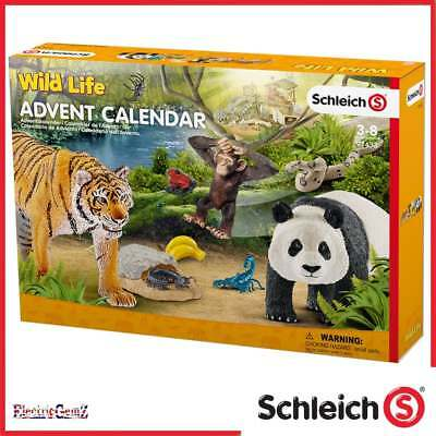 Schleich 2017 Wild Life Advent Calendar with Figures and Accessories