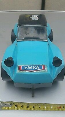 VINTAGE TOY CAR UMKA BEAR YMKA BATTERY OPERATED RUSSIA USSR 70's SOVIET CCCP #8