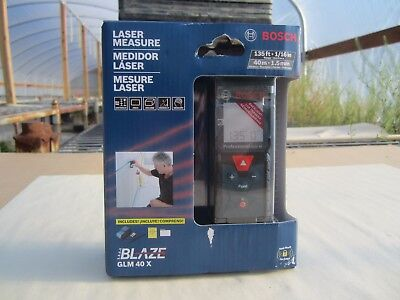 Bosch 135 ft. Laser Measure GLM 40 X