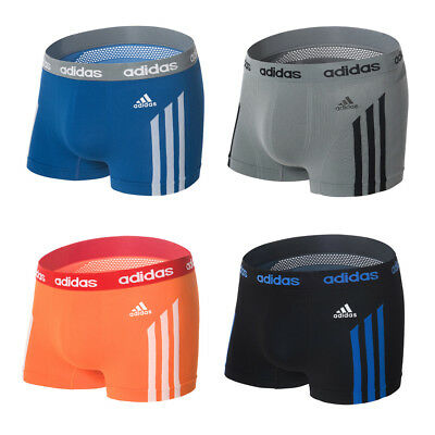 Adidas Men's Underwear Climacool Seamless Boxer Trunk Drawers 7MDMSF 7 Colors