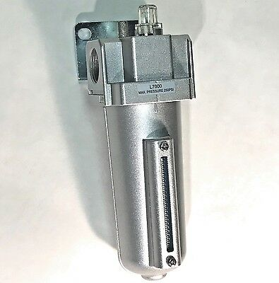"""3/4"""" Compressed Air LUBRICATOR, In-line OILER for Air Compressor Tools"""