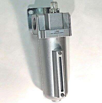 """1/2"""" Compressed Air LUBRICATOR, In-line OILER for Air Compressor Tools"""
