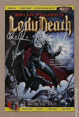 Lady Death Medieval Tale (2003) #4WPSIGNED VF- 7.5