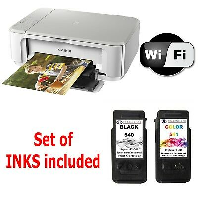 CANON Pixma MG3650 All in One WIRELESS PRINTER SCANNER COPIER + 95% full Inks