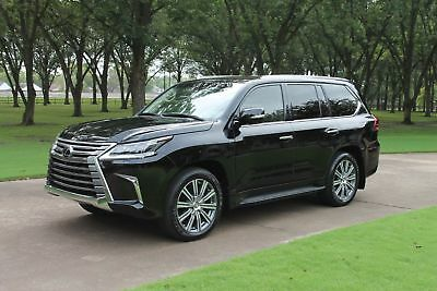 2016 Lexus LX 570 One Owner Perfect Carfax Lux Pkg Mark Levinson Sound Headrest TV/DVD MSRP $97420