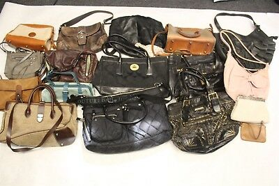 Wholesale Purse Lot USED Bulk Rehab Resale Dooney Coach Juicy Fiore Lucky cNkF