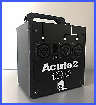 Profoto Acute 2 1200 Power Pack In perfect working order NR pro7 pro8 pro