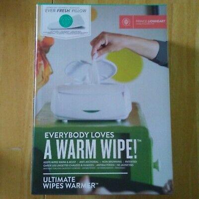 NEW Original Prince Lionheart The Ultimate Wipes Warmer for Baby