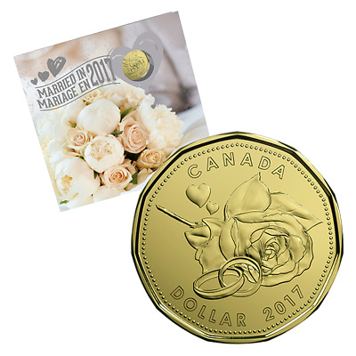 WEDDING GIFT SET - 2017 Uncirculated Coin Set with Limited Edition Loonie