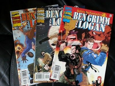 Before the Fantastic Four Ben Grimm and Logan 1 - 3