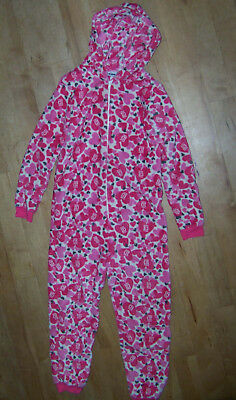 Girls Pink Mix One Direction/1D Hooded All In One Age 11-12.