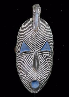 Outstanding  Tribal Songye  Mask With Bird ---  Congo