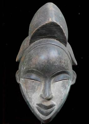 Beautiful Tribal Punu Okuyi Mask    ---  Gabon