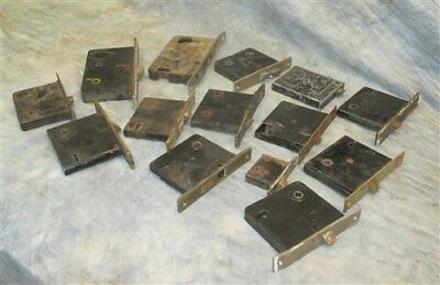 14 Locks Rim Night Latch Dead Bolt Architectural Salvage Door Hardware Mortise h