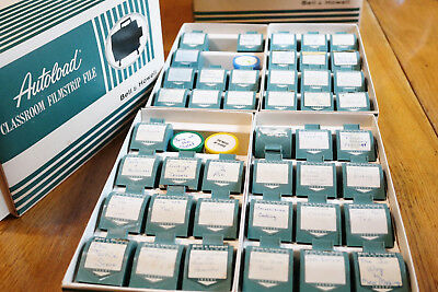 48 Vintage Educational Advertising Film Strips for HS Home Economics Class
