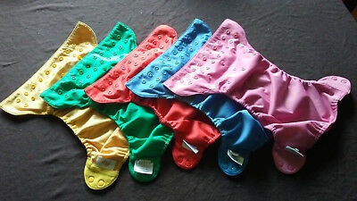 Flip One Size Diaper Cover Lot of 5 (Snap)