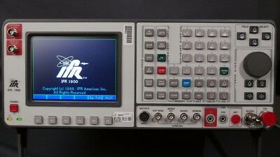 IFR 1900 Aeroflex Communications Analyzer - Great condition - Service Monitor