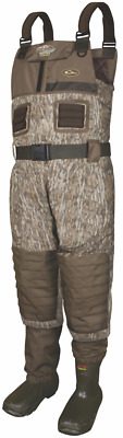 Drake Waterfowl MST Stout Breathable Insulated Wader Mossy Oak Bottomland DF8201