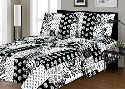 2200 Printed Bedding Sheet Set (soft touch & Wrinkle Free) on Clearance