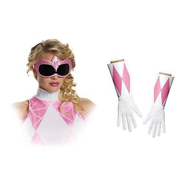 Disguise Pink Power Ranger Accessory Kit Adult Womens Halloween Costume 82851