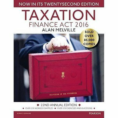 Taxation: Finance Act 2016 by Alan Melville (Paperback, 2016)