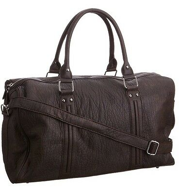 Mitsi Unisex Adult Mitsi Md720044 Holdall Brown