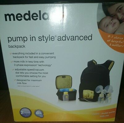 Medela Pump In Style Advanced Double Breast Pump Backpack