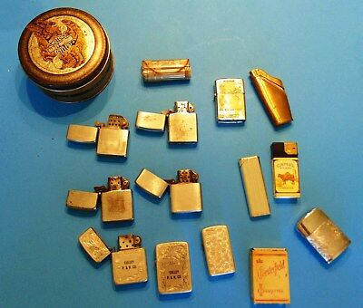 Vintage Junk Drawer Lot of Lighters