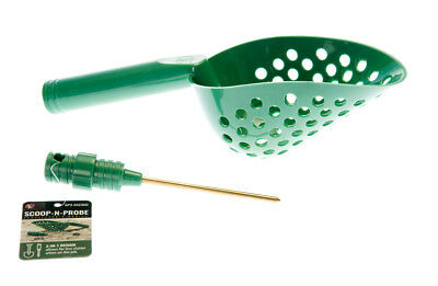 Tough Durable Green Plastic Beach Sand Scoop With Brass Probe