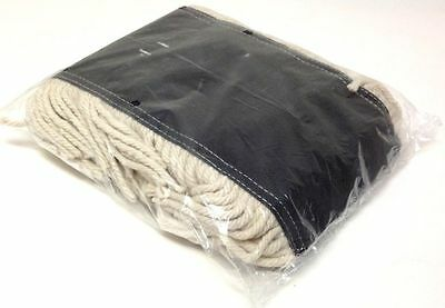 """Dust Mop Pad Industrial 24""""x5"""" Cotton Yarn Disposable Head Refill Replacement"""